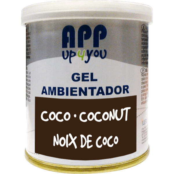 Air freshener gel Coconut