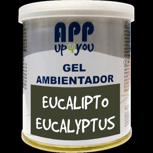 Air freshener gel Eucalyptus