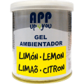 Air freshener gel Lemon