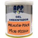Air freshener gel Peach